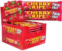Cadbury Cherry Ripe Twin Pack (80g bar x 36pc box) - B/B 13/11/20