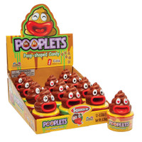 KidsMania Pooplets - Cola Popped-Shaped Candy (15g x 12pc display unit)