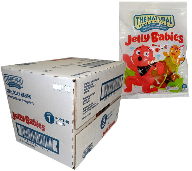 The Natural Confectionery Co. - Jelly Babies, by The Natural Confectionery Co.,  and more Confectionery at The Professors Online Lolly Shop. (Image Number :9693)