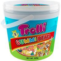 Trolli Gummi Bears Bucket (625g tub)