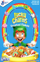 Lucky Charms - Frosted Flakes  (13.8.oz - approx 391g box)