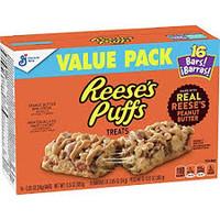 Reeses Puffs Treats (16 x 24g bars in a box)