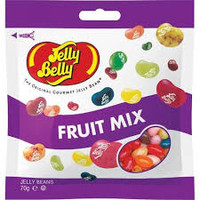 Jelly Belly - Fruit mix (70g x 12 bags in a display box)