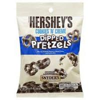 Hersheys Cookies N Cream Dipped Pretzel  (10 x 120g packs)