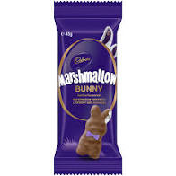 Cadbury Vanilla Marshmallow Bunny ( 40 x 35g in a Display box)