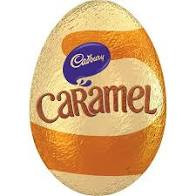 Cadbury Caramel Egg (48 x 39g Eggs in a display box)