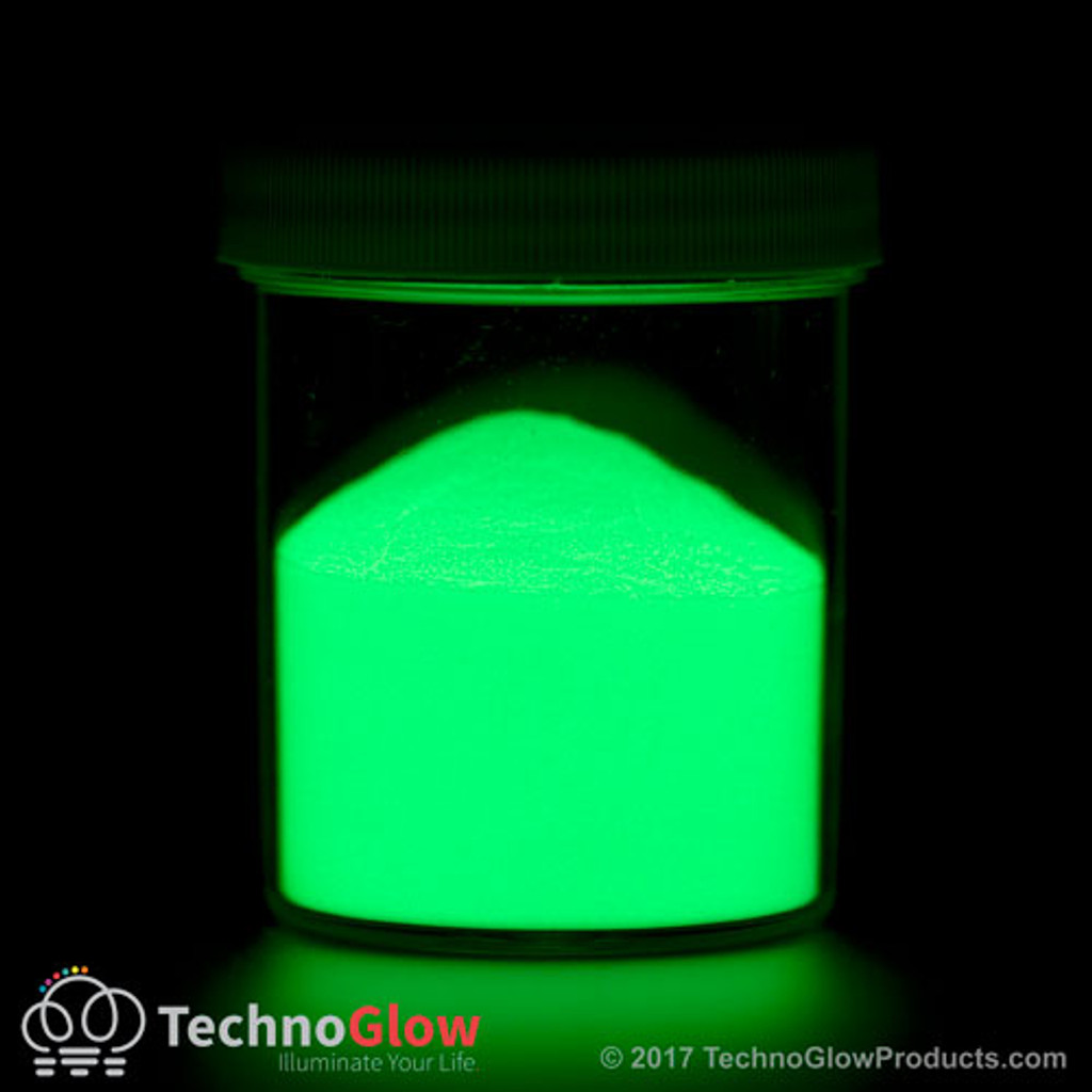 Green Glow in the Dark & UV Powder <150 Microns