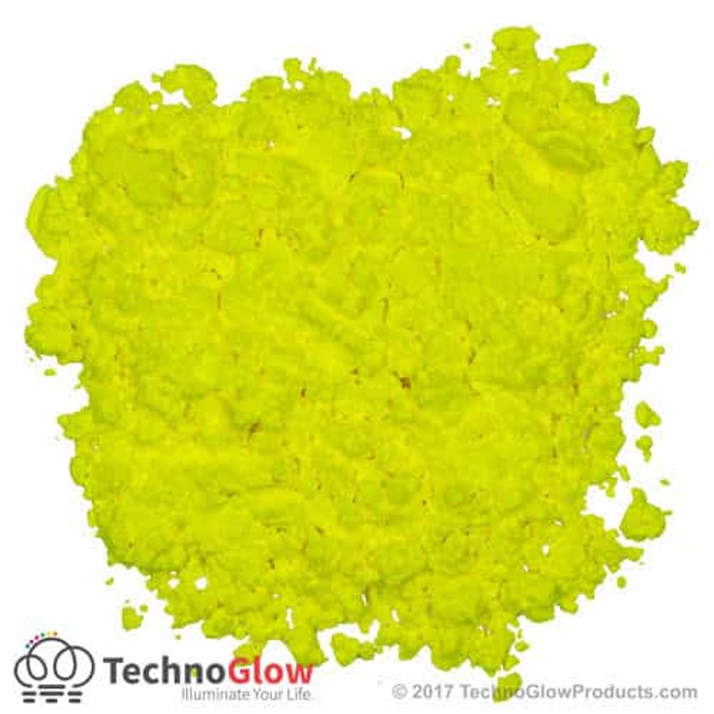 Yellow Fluorescent UV Powder
