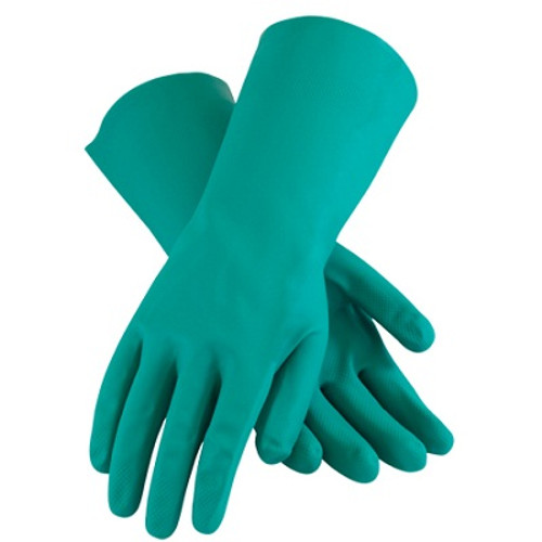 Chemical Resistant Nitrile Gloves - Medium