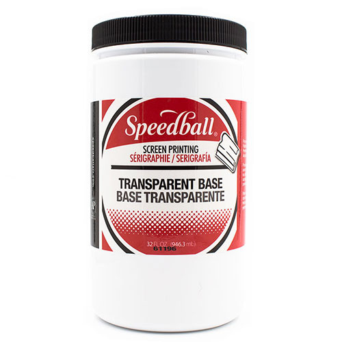Transparent Base Screen Print Medium 32 FL oz