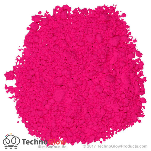 Magenta Fluorescent Powder
