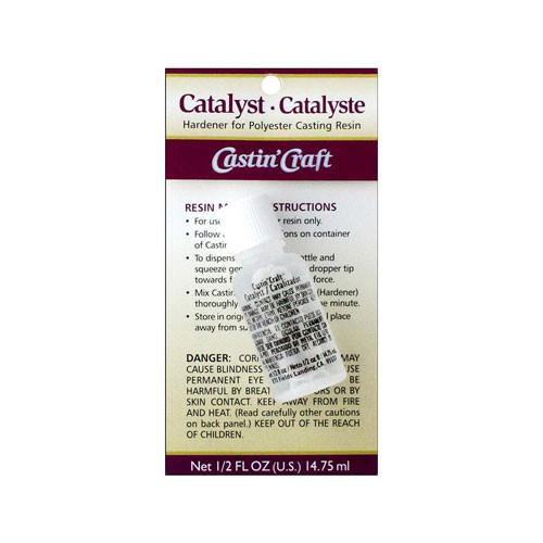 Hardening Catalyst for Polyester Casting Resin - 1 fl. oz.