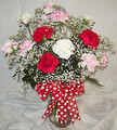 Mixed Carnation Valentine's Day Bouquet