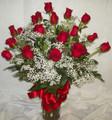 18 Valentines Roses