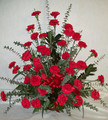 Classic Funeral Flower Basket