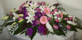 Clusters of Colors Casket Spray