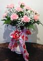 Valentines Scarf Bouquet