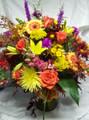 Sympathy Floral Vase