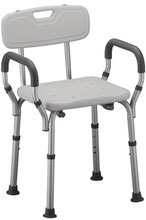 Shower Chair w/arms & back!