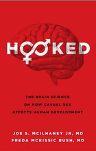 """Unhooking"" from the bonds of a sexual relationship can have serious consequences. This isn't merely another stern warning about teenage sex. HOOKED is a journey of discovery into the human brain when we are at our most vulnerable. Society tells us that sex is an act of self-expression, a personal choice for physical pleasure that can be summed up in the ubiquitous phrase, ""hooking up."" But what happens when those relationships end? When the physical pleasure is a memory and the person you shared it with is gone? Millions of American teenagers and young adults are finding that the psychological baggage of such behavior is having a real and lasting impact on their lives. They are discovering that ""hooking up"" is the easy part, but ""unhooking"" from the bonds of a sexual relationship can have serious consequences."