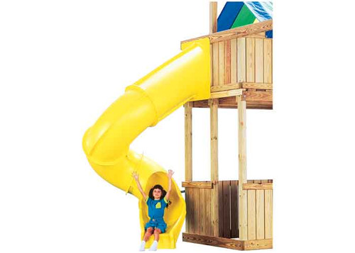 The Typhoon slide is available in green or yellow.  It is the perfect addition to your play set. - 2 Colors - USA Made