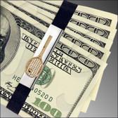GBTennis Sterling Silver/14kt Grand Band on money