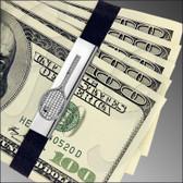GBTennis Sterling Silver Grand Band on money