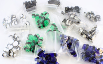 Glow in the dark and standard ear plug color choices