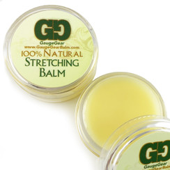 "Gauge Gear Stretching Balm and ""The Wash"" Saline Wash"