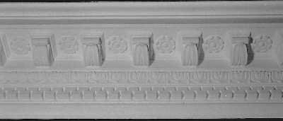 Elaborate Crown Molding w-Corbels