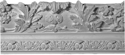 Sculpted Acanthus Leaf Crown Molding