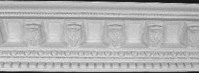 Acanthus Leaf & mini corbels Crown Molding