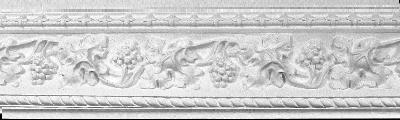 Decorative Grapes and Vines Crown Molding