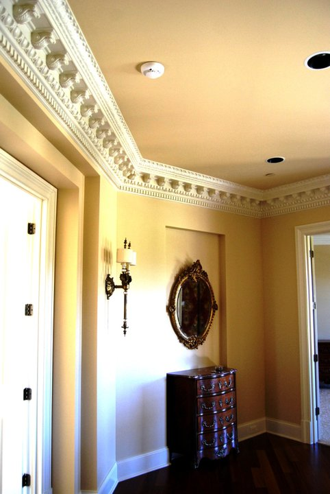 Elaborate Crown Molding | Cast Plaster