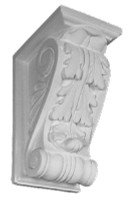 A Classic Corbel Bracket, small in size, featuring an acanthus leaf motif