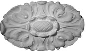 New Rosette Applique - CRA108 - featuring acanthus leaf details