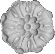 Flower Rosette Applique - CRA118
