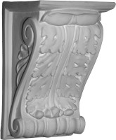 A Classic Corbel Bracket, medium size, featuring an acanthus leaf