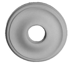 "Liberty Classic - Miniature Ceiling Medallion.  11 3/4"" Diameter x 1 3/4"" projection.  Simple elegant design."