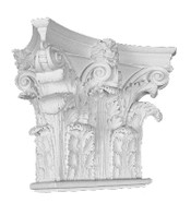 Ornate Capital, with acanthus leaves, and small top volutes