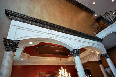 Capitals used with DM712 Crown Molding