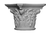 C5.  A round capital, with acanthus leaves details