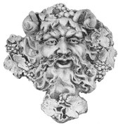 Roman God Bacchus A169.  God of wine
