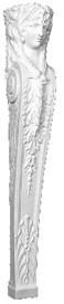 Lady Alisha A18 - Bracket, Stanchion, Pilaster, Mantel Leg