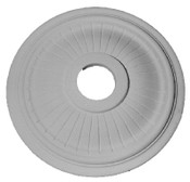 "14 3/4"" x 1 1/2"" Classic Groove Ceiling Medallion"