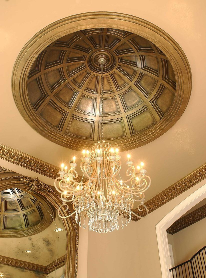 10 Kitchen And Home Decor Items Every 20 Something Needs: Coffered 10-Foot Ceiling Dome