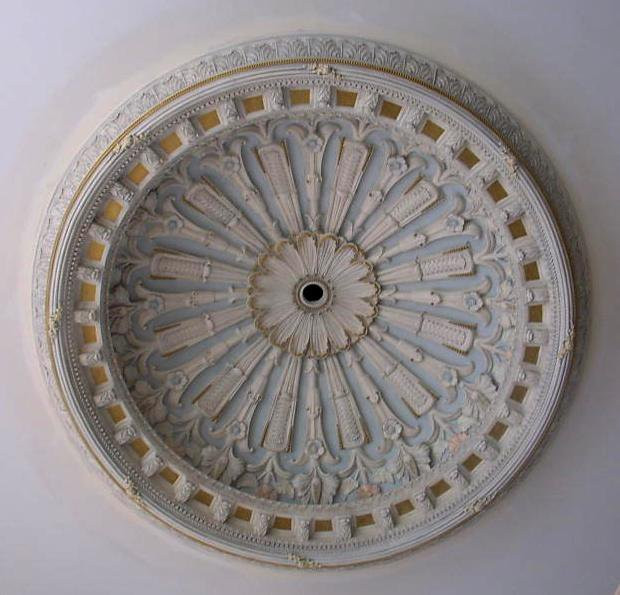 Ornate 10-Foot Ceiling Dome
