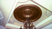 Installed Architectural Ceiling Dome D8 with D7 Insert