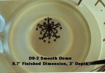 Smooth 8-ft Dome (2 feet deep)