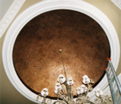 Plaster Dome D10 - 10 1/2 feet diameter, smooth interior finish- Ring available at extra cost